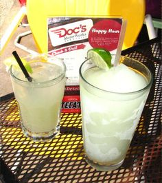 www.austingive5.com  Doc's Motorworks on South Congress AND Doc's Backyard on Brodie and 290 are serving up drinks for Mother Earth! Whether you're north or south, they've got you covered on your quest around town for Give 5% day.