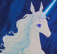 The Last Unicorn Movie, Golden Retriever Rescue, Unicorn Tattoos, Disney Movie Characters, Unicorn Art, Vintage Cartoon, Art Drawings Sketches, Fantasy Creatures, Manga