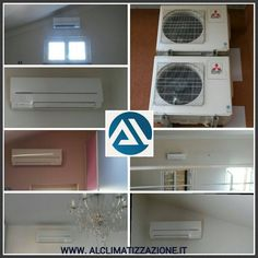 #installazione #climatizzatori n. 2 #trial #split #attico e #superattico #Concesio #Brescia www.alclimatizzazione.it