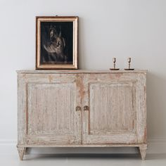 19th Century Swedish Gustavian Buffet.