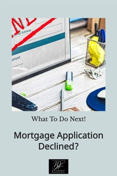 What to do if your mortgage application has been declined.    🏡 👫 #HomeBuyers #DreamHome #FirstTimeBuyers #Buying #House #BoKnowsRealEstate #RealEstate ❤