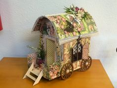 Designs by Shellie: COMING SOON! NEW TUTORIAL: GYPSY WAGON w/ GRAPHIC 45 ONCE UPON A SPRINGTIME PAPER COLLECTION