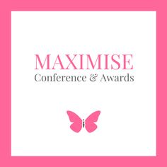 The Maximise Awards are the highlight of our year where we acknowledge and celebrate our businesswomen. For some receiving an award is life changing and for others, it's much-needed recognition for a job well done. Most importantly for all of us, it's a wonderful celebration of being a woman in business.  Join us, all welcome!  www.maximise.live  #MaximiseConference  #womeninbusiness