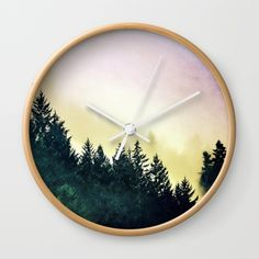 We were on our way to the Oregon coast and turned on a mountain road to take the scenic route. Fog rolled through the forest around us. #travel #nature #wanderlust #adventure #homedecor #camping #bedroomideas #roadtrips #hiking #mountains #pnw #northwest #oregon #washington #forest #woods #trees #fog #mist #pacificnorthwest #clock
