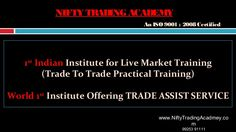 Looking For Share Market Training Nifty Trading Academy Offers