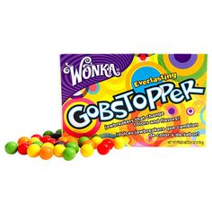 """Знаменитые конфеты с фруктовым вкусом Gobstopper от Wonka, которые никогда """"не заканчиваются"""" :) При этом конфета,... Everlasting Gobstopper, Snack Recipes, Snacks, Pop Tarts, Cereal, Candy, Breakfast, Aesthetics, Food"""