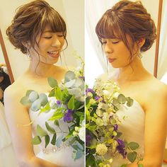 沖縄 Hair Make & Bridal JOYさんはInstagramを利用しています:「JOY wedding 💕 挙式ヘアはシニヨン ヘッドアクセ無しが新鮮✨ エリスリーナさんのブーケ 素敵でした❤️ ❤︎ ❤︎ ❤︎ ❤︎ 前撮り、挙式、披露宴の衣装レンタルご希望の方はHPの問い合わせか、LINEにてご連絡下さい😊 HP ☞@okinawabridaljoy…」 Hoop Earrings, Bride, Fashion, Wedding Dressses, Wedding Bride, Moda, Fashion Styles, The Bride, Fasion