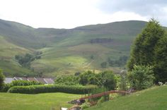 Bwlch mountain. From Vicarage Terrace, Cwmparc. Rhondda. South Wales