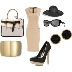 feeling classy, created by dumbbunnylovesu on Polyvore