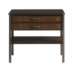 Crestaire-Southridge Bedside Table in Porter - 436-13-82 stanley