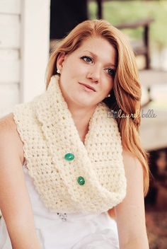 Chunky Cowl in Seaglass by moxnixAW on Etsy, $40.00