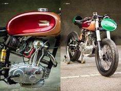 Ducati 125 TS Radical F3 ~ Return of the Cafe Racers