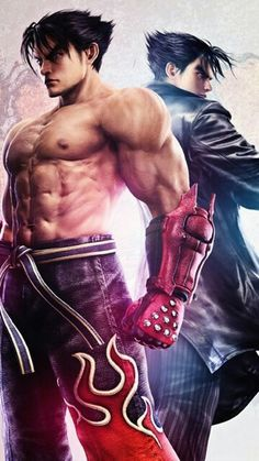 Game world Tekken 4, Tekken Jin Kazama, Comic Character, Game Character, Tekken Wallpaper, Tekken Tag Tournament 2, Street Fighter Tekken, Bryan Fury, Geeks