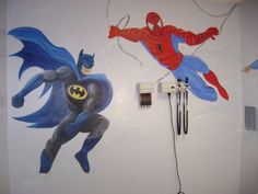 Superhero Decoration 500x375 Superhero Decoration Ideas for Boy's Room
