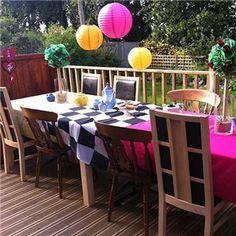 Table Decoration #aliceinwonderland #decorazione #tavola #festa #compleanno…
