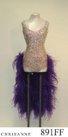 Chrisanne Latin Ballroom Dress