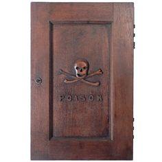 Antique Poison Door