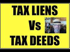 Difference Between Tax Lien and Tax Deed Investing