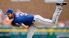 Texas Rangers Ace, Cole Hamels