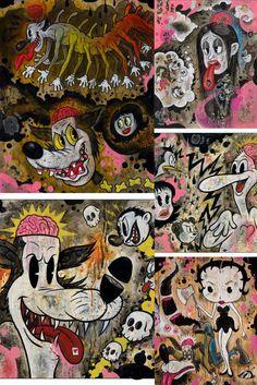 Pop Art Drawing, Art Drawings, Eagle Art, Black Love Art, Storyboard Artist, Occult Art, Cool Art Projects, Classic Cartoons, Pop Surrealism
