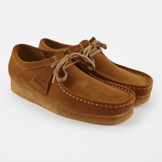 Clarks Originals Clarks Wallabee - Cola Suede (Image 1)