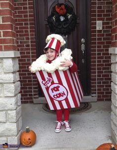 Bag of Popcorn - Homemade Halloween Costume