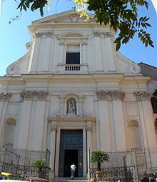 Santa Maria della Scala in the Trastevere neighborhood of Rome, where Teresia remained for the rest of her life.