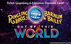 4 Tickets to See Ringling Bros. Out Of This World at American Airlines Arena!