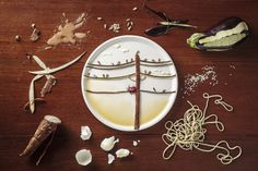 Anna Keville Joyce, la ilustradora de platos #unamamanovata #foodartist ▲▲▲ www.unamamanovata.com ▲▲▲