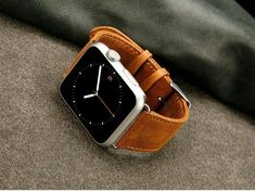 e79b4dfeecc The best luxury leather band for Apple Watch Series 3