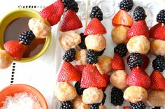 Donut Hole Breakfast Skewers | 22 Ways to Go Nuts for Donuts!