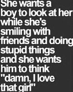 Damn, i love that girl