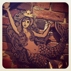 Love this version of the #Starbucks #mermaid. It'd make a neat tattoo!, via Flickr.