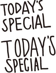 """The logo of """"Todays Special"""", newly opened in Tokyo"""
