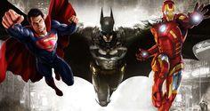 Летающие супергерои