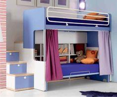 10 fantastiche immagini su Camerette con letti a castello | Kids ...