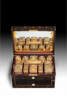 : A RARE VICTORIAN DRESSING CASE BY ASPREYS made 1853 55,000 GBP