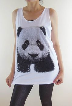 Panda Shirt  Panda TShirt Animal TShirt Animal Shirt by panoTshirt, $15.99