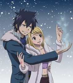 Fairy Tail Lucy and Gray | Fairy Tail