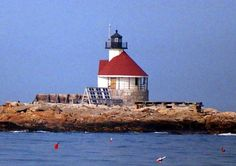 The Cuckolds lighthouse, State of Maine