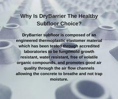DryBarrier Subfloor (@DryBarrierInc)   TwitterDid You Know Why Is DryBarrier The Healthy Subfloor Choice? #DryBarrier #subfloor #DIY #homedecor #reno2reveal #basementreno Concrete Slab, Mold And Mildew, Cabin, Flooring, Healthy, Pictures, Diy, Photos, Bricolage