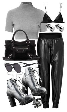 """""""Untitled #20431"""" by florencia95 ❤ liked on Polyvore featuring Neil Barrett, Glamorous, Humble Chic, Balenciaga, Christian Dior, T By Alexander Wang and Chanel"""