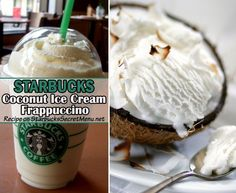 Coconut syrup and whole milk blended & topped w/whip cream and toasted coconut. Close your eyes and slip into a daydream.