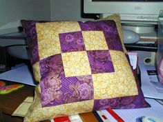 Bento Box Pillow with help
