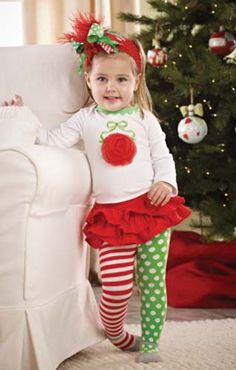 Cute holiday outfit for baby