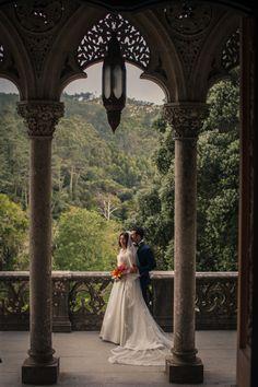 Monserrate Palace Wedding in Sintra, Photography by: @fabioazanha.com