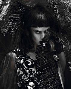 saskia de brauw by mert and marcus for vogue paris september 2012