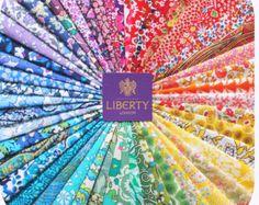36 Liberty Tana Lawn fabric 5'' Patchwork Charm