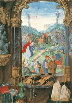 11 Image réduite [15 MARY OF BURGUNDY S BOOK OF HOURS RAISING T.jpg - 325kB]