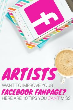 Not just for artists - a must read for anyone with a Facebook Fanpage!